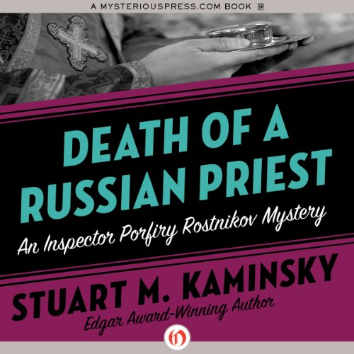 Death of a Russian Priest audiobook cover art