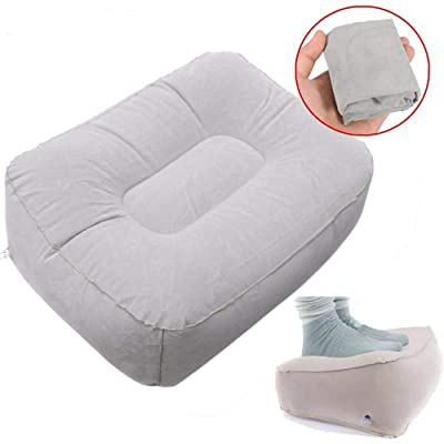 Funwill Inflatable Footrest Pad Stool Train Tra...