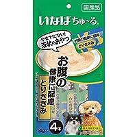 【セット販売】いなば 犬用ちゅ~る お腹の健康に配慮 とりささみ (14g×4本)×6コ[ちゅーる]