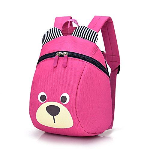 Edad 1-2Y lindo oso pequeño niño mochila con correa niños niños mochila bolsa para niño niña