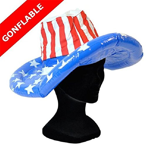Sandy Mondial-fete - Chapeau américain gonflable