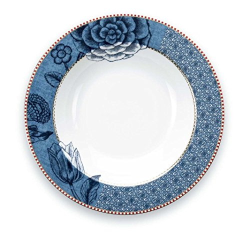 PiP Studio Soup Plate Spring to life Blue 21,5 cm