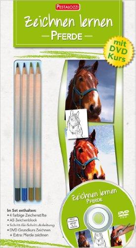 Zeichnen lernen- Pferde: Mit DVD Kurs