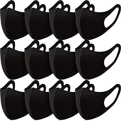 Renrenen - Juego de 6 piezas, color negro