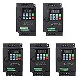 VFD Inverter convertitore di frequenza, 0.75kW 220V 1PH/ 3PH PWM Trasformatore VFD Velocit...