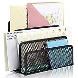 3 * compartimentos Organizador de escritorio revistero revistas, Malla Metálica...