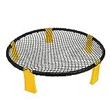 Flytise Minipelotas de voleibol de playa con pinchos para exteriores, equipo de fitness, red con 3 pelotas