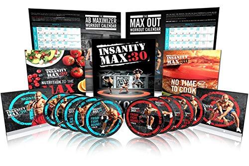 Insanity Max:30 Basis-Set für Kraft- und Cardio-Training auf 10 DVD