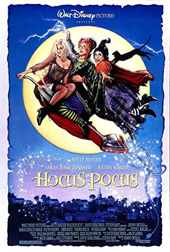 UpdateClassic Hocus Pocus Movie - Poster 11 x 17 inch Poster Print Frameless Art Gift 28 x 43 cm Matte Paper Surface