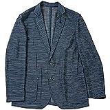 G-stage ジーステージ カラミ織メッシュスラブジャケット ブルー 50