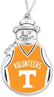 FTH 60629 University of Tennessee Volunteers Basketball Jersey Snowman Christmas Ornament