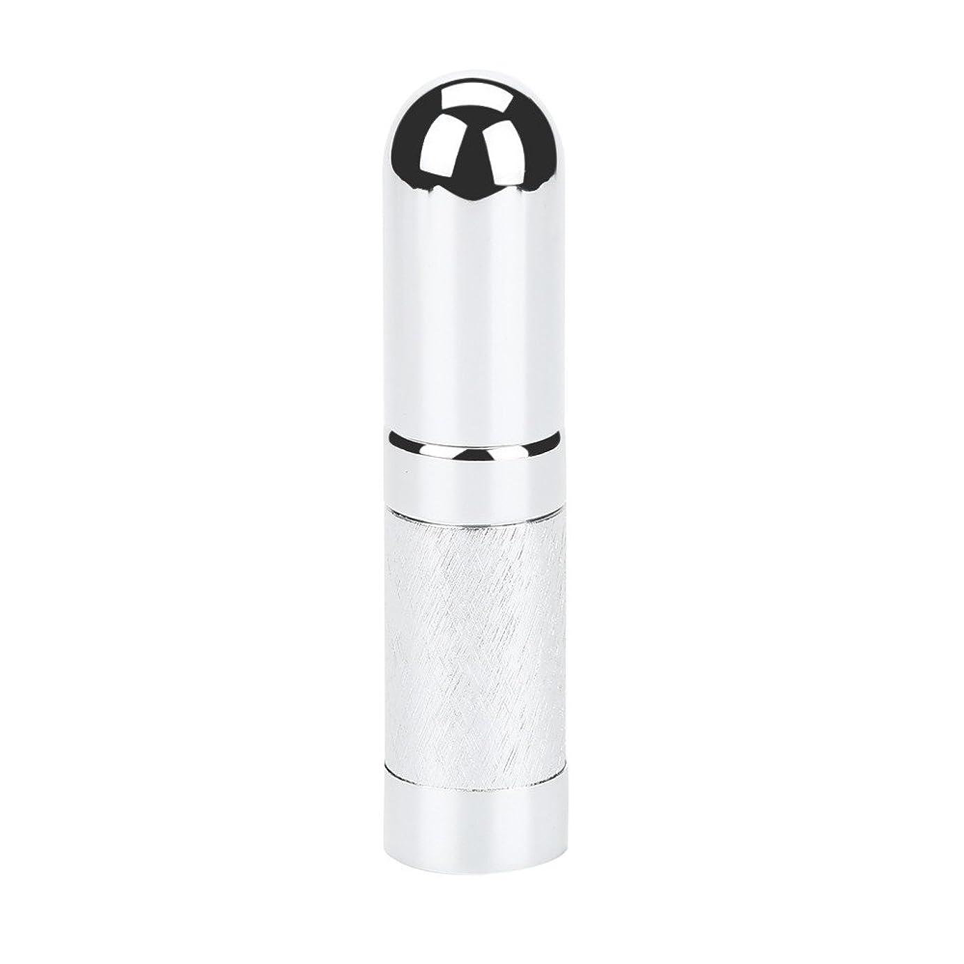 賢明な愛情深い法的スプレーボトル 遮光 YOKINO アトマイザ- 詰め替え ポータブル クイック 香水噴霧器 携帯用 詰め替え容器 香水用 ワンタッチ補充 香水スプレー パフューム  プシュ式 6ml (シルバー)