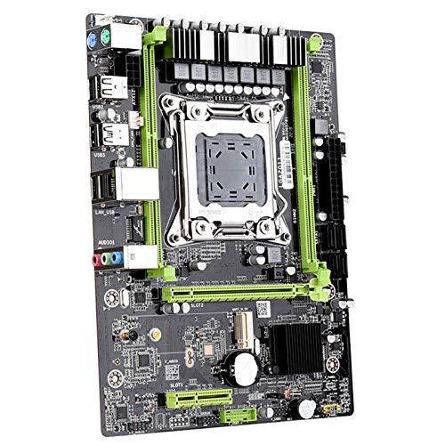 Placa Base del Juego, Soporte LGA2011 Pin E5 E5 2680V2 Serie Xeon Octa-Core CPU DDUL Canal DDR3 Memoria, Interfaz a Bordo M.2, Tarjeta De Red Gigabit, Adecuada para