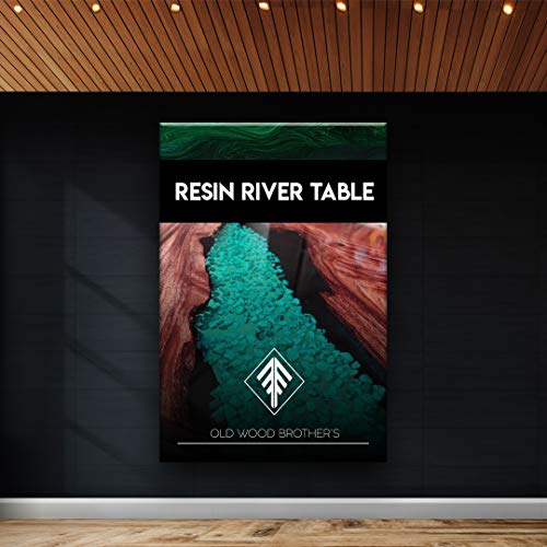 Como hacer una mesa de rio epoxico - How to make a Resin River Table