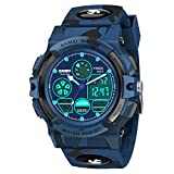 Dreamingbox Kids Watches Boys Waterproof, Outdoor Sports Waterproof Electronic Watches for Kids Christmas Birthday Presents Gifts for 5-12 Year Old Boys Toys Age 6-10 Stocking Fillers DB Camouflage