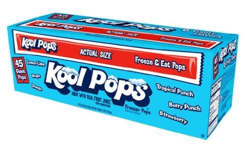 Kool Pops Freezer Pops, Assorted Flavors (45...