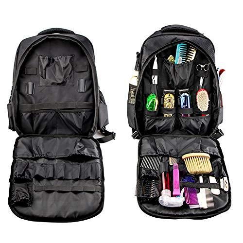 Hairdressing Bag Peluquería Mochila, Multi Función salón Profesional del Maquillaje de la Herramienta al Aire Libre Mochila Cosmética Organizador del Recorrido del Bolso Hombros