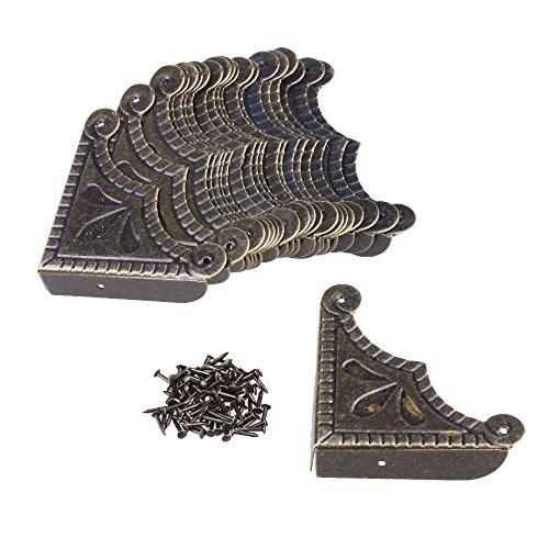 56 x 12.5mm Eisen Bronze - Farbe Möbel Tisch Regal Dekorative Kantenabdeckung Einschließlich der...