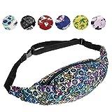 whatUneed Sports Hiking Running Belt Waist Bag,Fashion Travel Fanny Bag Super Lightweight For...