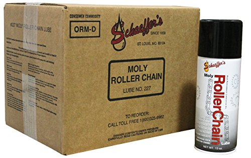 Schaeffer Manufacturing Co. 0227-011 Moly Roller Chain Lube, 13 oz (Pack of 12)