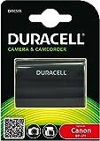 Duracell DRC511, Batería de videocámara 7.4 V, 1600 mAh (reemplaza batería original de Canon BP-511/BP-512)