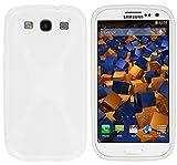 Mumbi Coque en Silicone pour Samsung Galaxy S3 Blanc