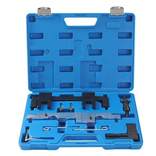 CCLIFE Motor Einstellwerkzeug Arretierwerkzeug Nockenwellen Steuerkette Wechseln Werkzeug Kompatibel mit BMW N43 116i 118i 316i 318i 320i 520i