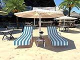 GZGZADMC Funda para silla de playa, cubierta para silla de playa, cubierta para piscina, tumbona, hotel, vacaciones