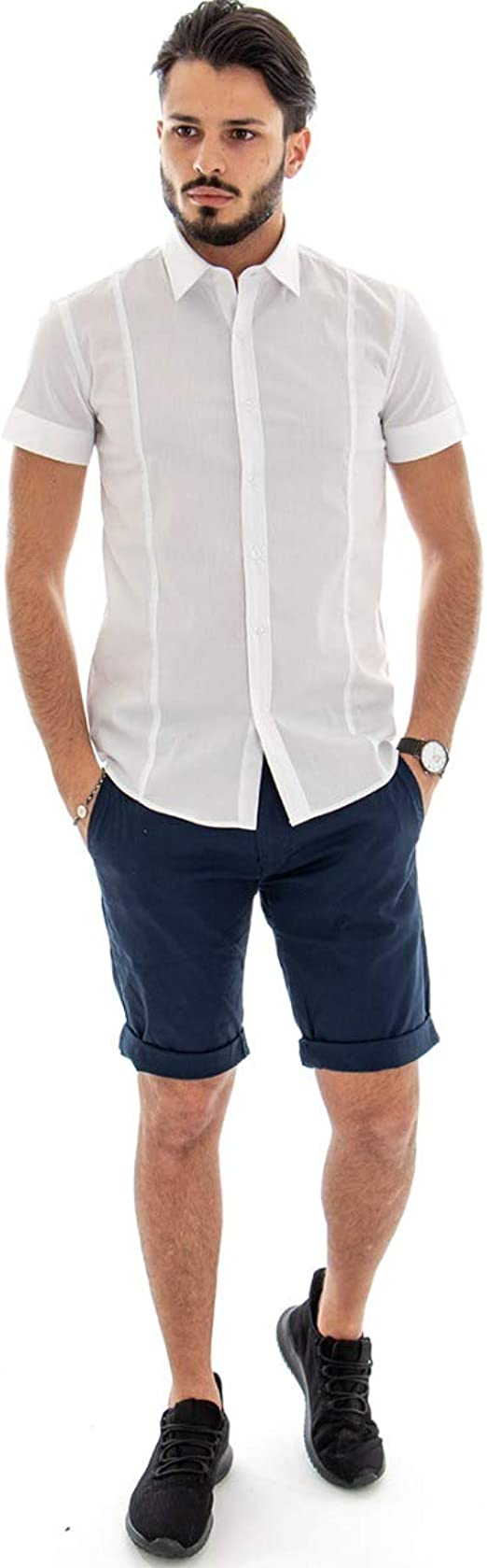 Giosal Outfit - Camisa de Manga Corta para Hombre, Color ...