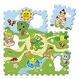 Chicco 00005316000000 - Puzzle de 9 Piezas, diseño de Castillo, Multicolor