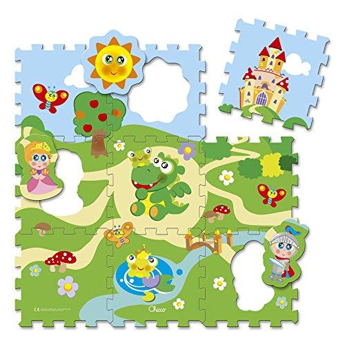 Chicco Tappetino Puzzle Castello, Tappeto Gioco Componibile per Bambini