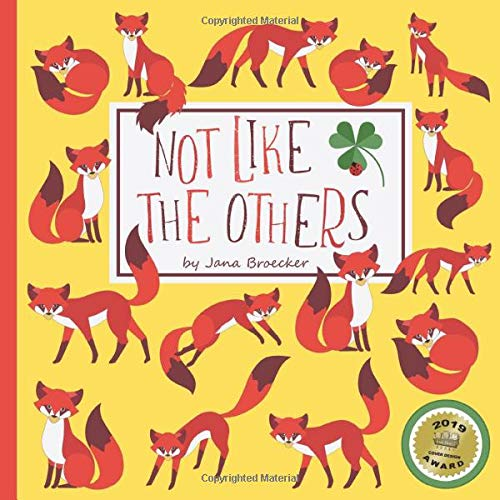 Not Like The Others: A Hidden Picture Book About Diversity (UK Edition) (Another Found It Book)