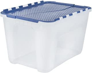 4 gal. Flip-Top Storage Tote (5-Pack)