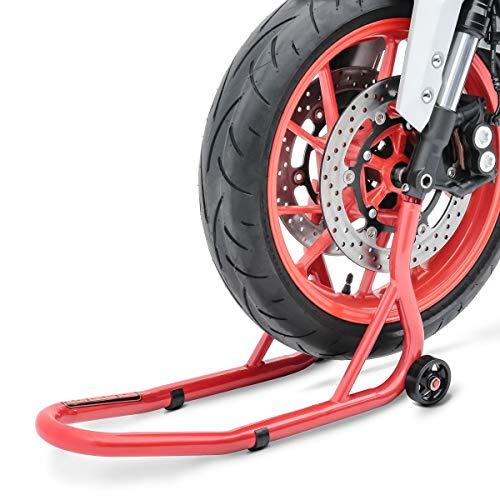 ConStands - Motorrad Montageständer für Ducati 748,749,848/Evo,888,916,996,998,999,GT 1000 Vorderrad Fork Rot