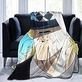 Anime & JoJo S Bizarre Adventure Speedwagon Meme Air Conditioning Blanket Quilt Blanket Bed Sofa Movie Travel Anti-Wrinkle, Anti-Allergic 80'X60'
