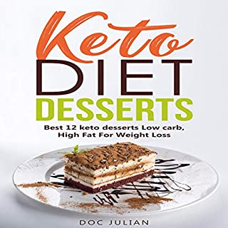 Keto Diet Desserts audiobook cover art