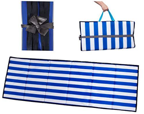 MT MALATEC Strandmatte Picknickdecke wasserdicht gepolstert Faltbar 10065