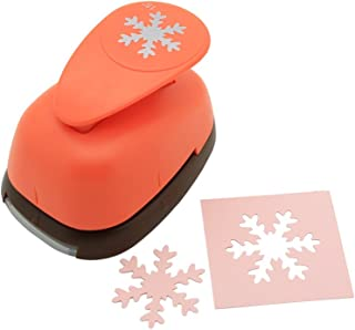 Bira 1.5 inch Snowflake punch, Christmas Punch, Lever Action Craft Punch for Paper Crafting Scrapbooking Cards Arts