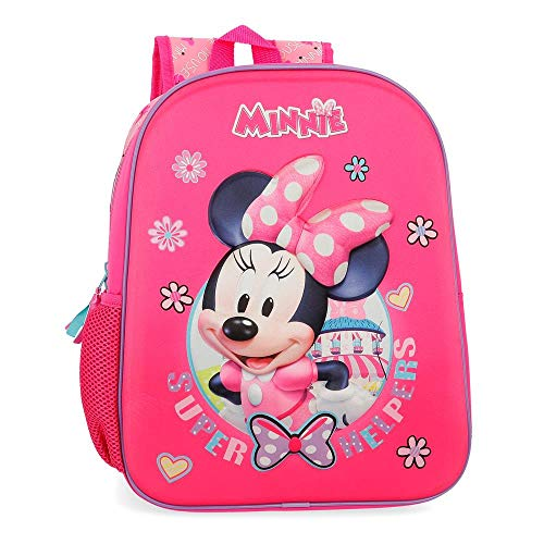 Disney Super Helpers Zainetto per bambini 33 centimeters 9.8000000000000007 Rosa