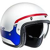 Casco Aperto Moto Hjc Fg-70 Modik Rosso-Blu (S , Bianco)