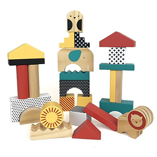 Petit Collage Wooden Animal Town...