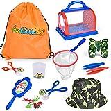 16 PCs Bug Catcher Kits for Kids, Outdoor Explorer Kit Nature Exploration Toys Set for Boys & Girls