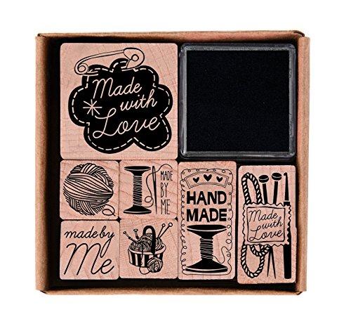 Rico Design - Lote de sellos (hechos a mano)