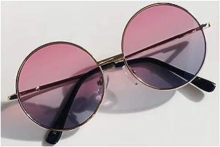 GAOYOO - GAOYOO Gafas De Sol 1 Unid Vintage Candy Color Simple Niños Ronda Niñas Anti-UV Niños Calientes Niñas Niños Retro Gafas De Sol Lindas Gafas Uv400