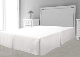 Intemporel Cubre somier de Microfibra 90 x 190 cm Blanco