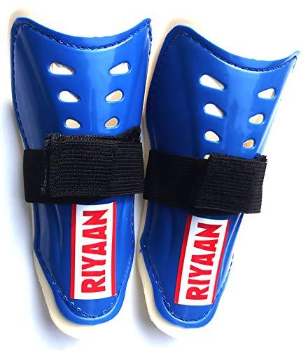 Star Sports king RIYAAN Shin Guard for Kids (1 Pair, Blue)