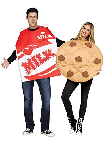 Milk and cookies adorable couples costume
