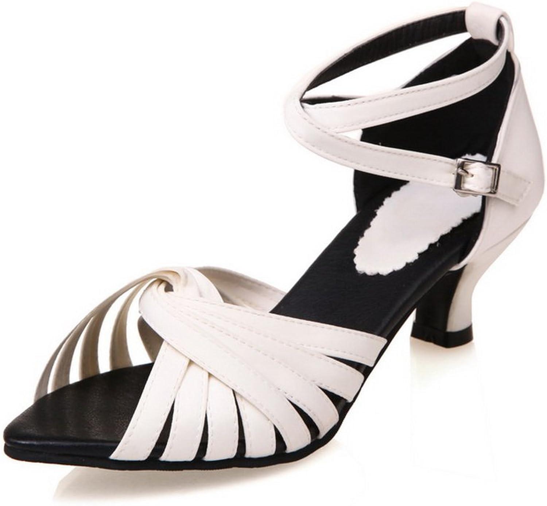 AN Womens Sandals Solid Kitten-Heels Urethane Sandals DIU00749