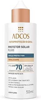 Adcos Fotoprotecao Filtro Solar Fluid Tonalizante Fps70 50ml