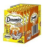 Dreamies Katzensnacks Katzenleckerli Extra Crunch mit Käse